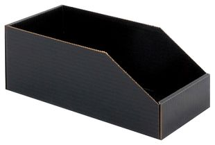 ESD storage box open, 611x117x127 mm